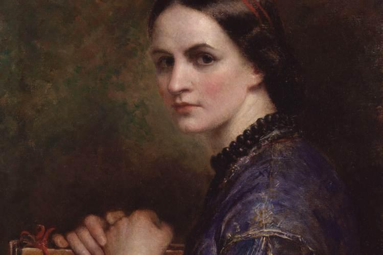 Ann Mary Newton: Önarckép (részlet)