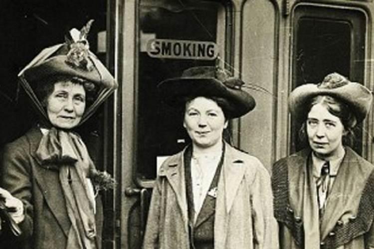 Emmeline, Christabel és Sylvia Pankhurst