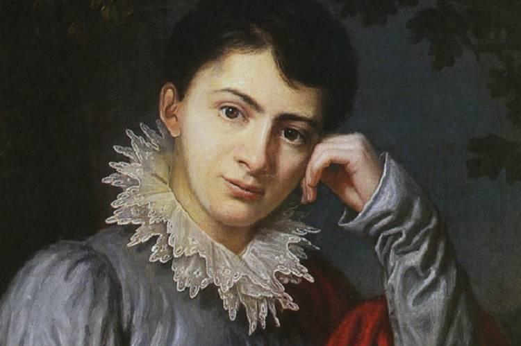 Betty Gleim 1815-ben (Georg Schröner festménye, részlet)
