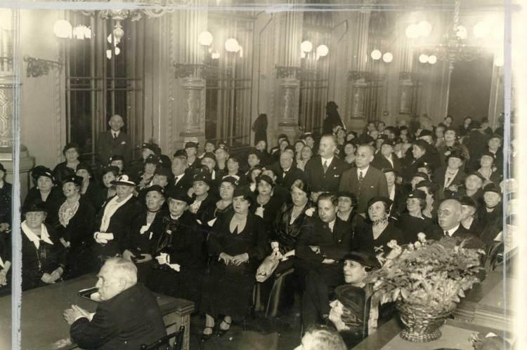 Pesti Izraelita Nőegylet, 1934
