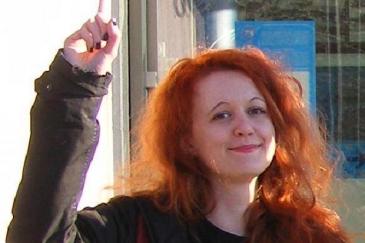 Barna Emília, a Nőkért Egyesület és a Onebillionrising Budapest szervezőcsapatának tagja