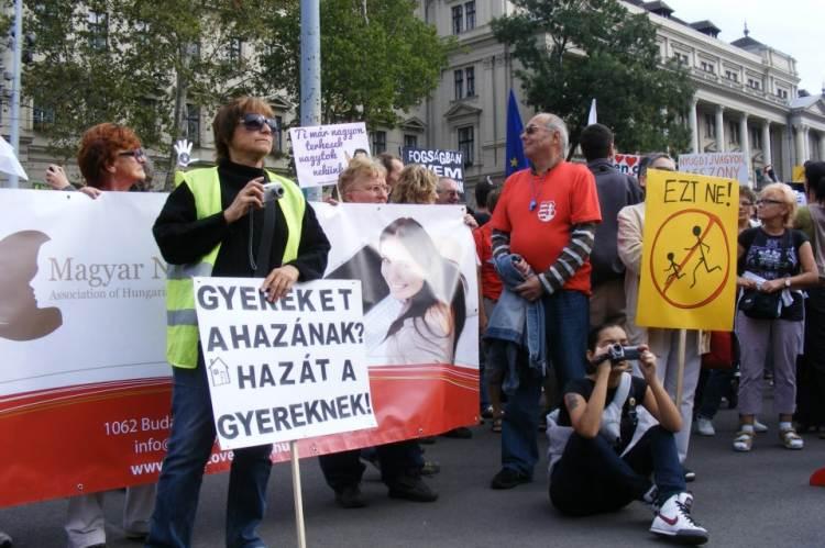 Nők Lázadása - Csécsei Ilona fotója