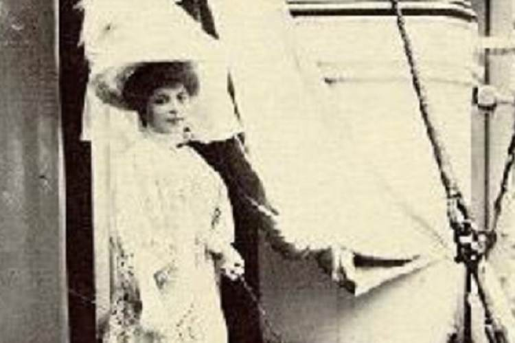 Parlaghy Vilma első amerikai útján