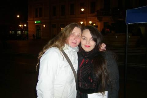 Ketten a Szegeden felszólaló nők közül: Demcsák Katalin (SZTE) és Antoni Rita