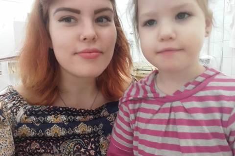 Nagy Blanka a húgával (Forrás: Facebook)
