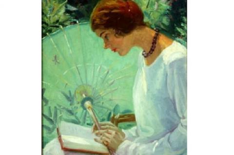 Susan Ricker Knox: Olvasás a kertben