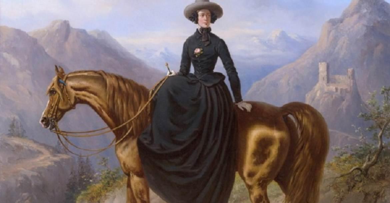 Alexandrine Tinne holland utazó Henri Auguste d'Ainecy Montpezat festményén