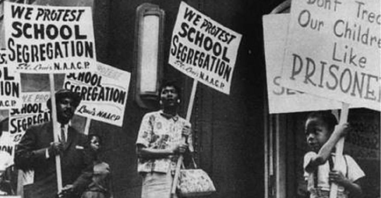 Tüntetés Kanadában a faji szegregáció ellen