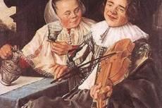 Judith Leyster: Iszogató páros (1630)