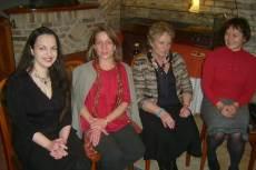Antoni Rita, Acsády Judit, Szalma Ibolya és Sóti Judit